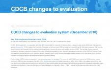 Inatega - Cambios en el Sistema de Evaluación del CDCB para Diciembre de 2018